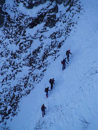climbing the hohneck