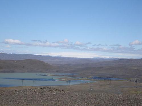 reservoir in iceland