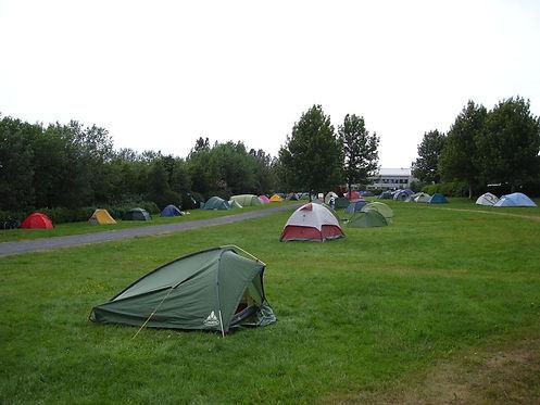 campsite in reykjavik