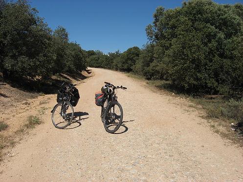 bicycle path Spain