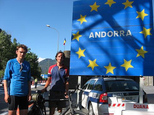 Andorra border