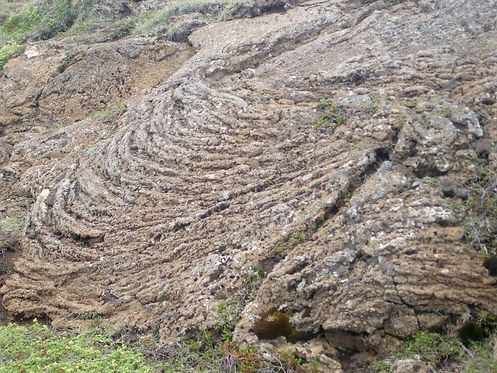 solidified magma