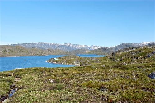 Fjords near maniitsoq