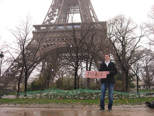 hitchhiking to the eiffel tower