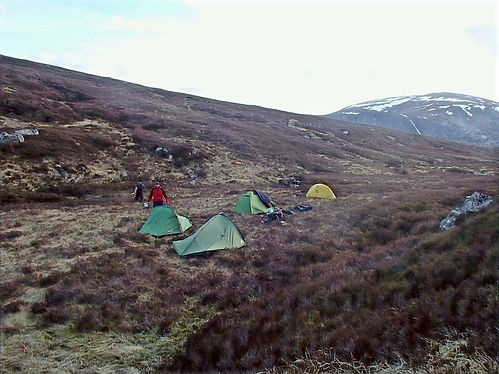 camping in cairngorms national park