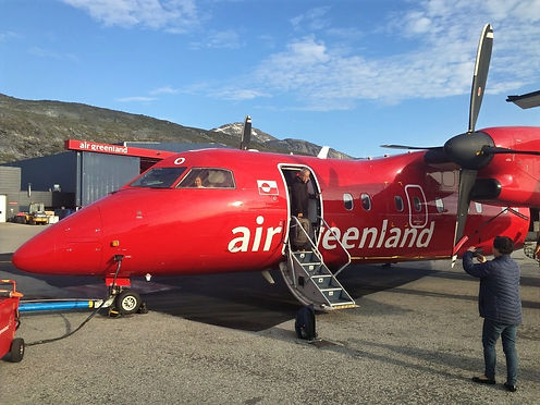 plane of airgreenland