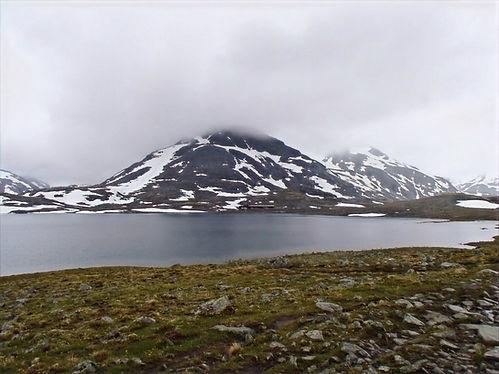 Hiking in jotunheimen