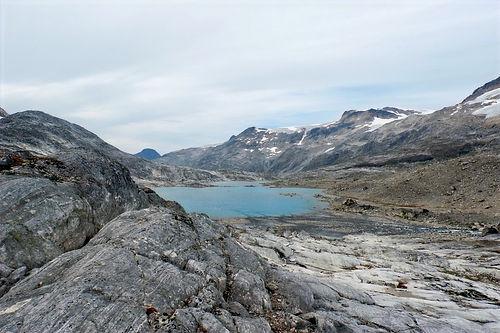 Backpacking near maniitsoq