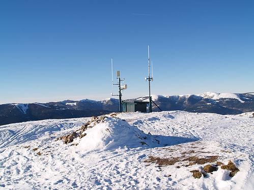 weather station on le petit ballon