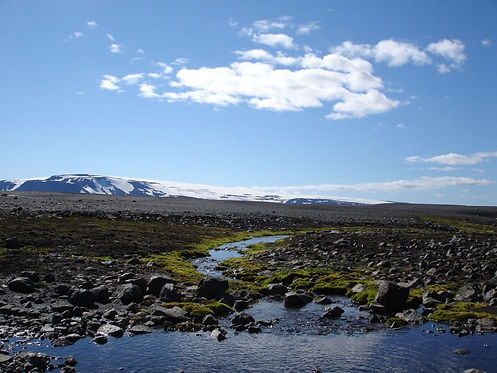 beautiful view in iceland