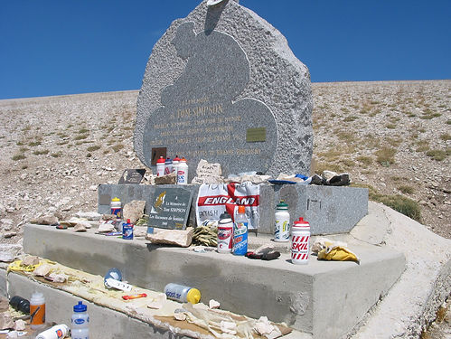 Tommy Simpson monument