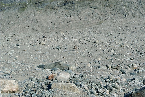 boulder fields in greenland