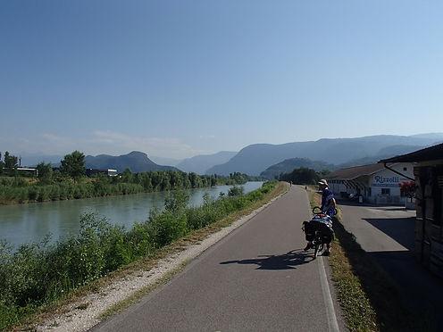 cycling along the Inn