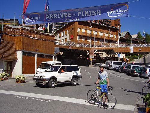 Finish Alpe d'Huez