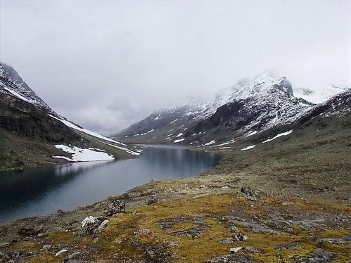 backpacking in jotunheimen