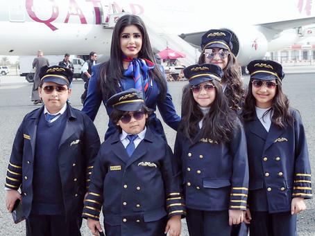 تقديم نجلاء الكندري لمعرضالكويت للطيران