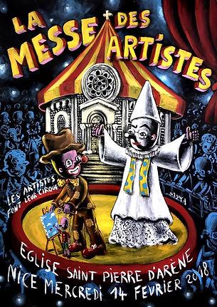 La messe des artistes Nice