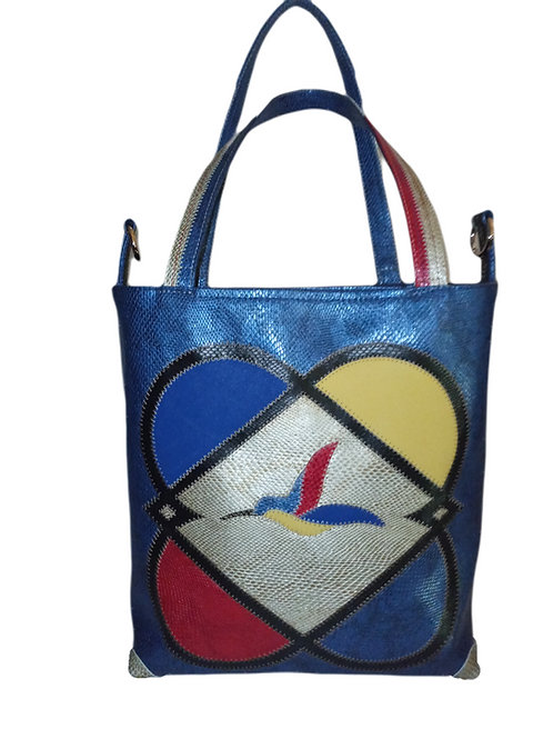 Marqueterie Couture - Sac Mondrian Poches Sécurisées ® Karl Backwell