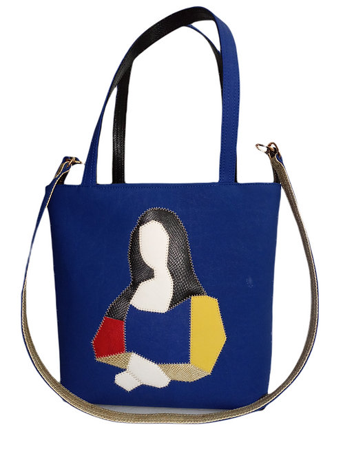 Art Marqueterie Couture - Sac Monalisa - Poches Sécurisées ® Karl Backwell
