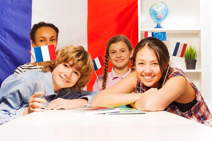青少年學習法文