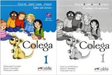 Colega 1 pack textbook + workbook + cd