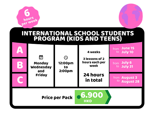 International School Students Program Te