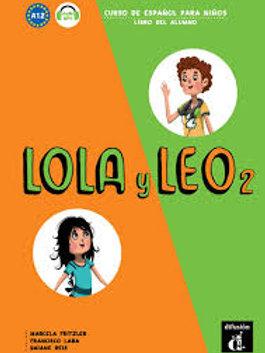 Lola y leo 2 textbook