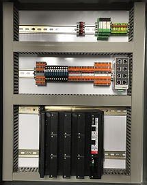 NEC compliant fuel distribution control panel