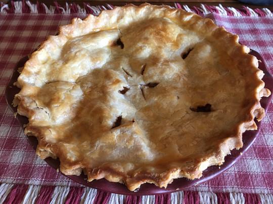 "Haralson Apple Pie | 9"""