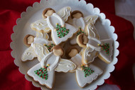 Angels We Have Heard on High Sugar Cookies