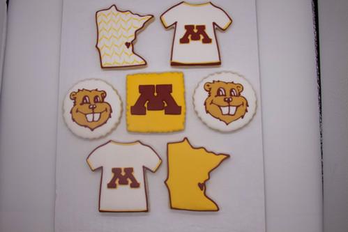U of MN Sugar Cookies