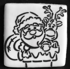 Santa Claus PYO Sugar Cookie
