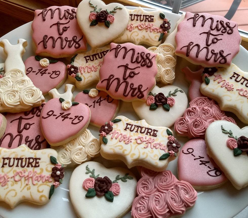 Bridal Shower Royal Icing Sugar Cookies