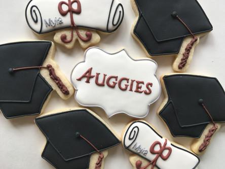 Graduation Sugar Cookies