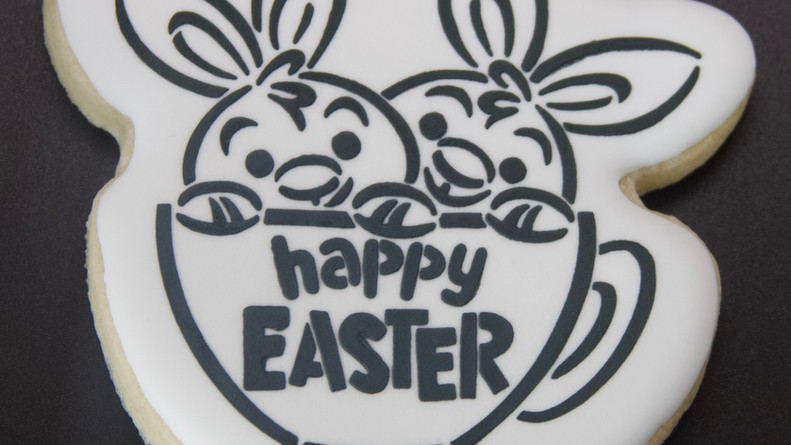 Paint Your Own Easter Sugar Cookie