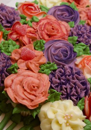 Valentine Cupcake Bouquet