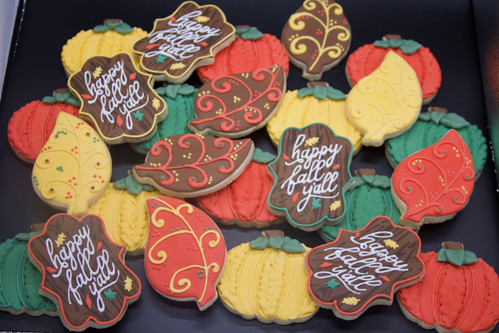 Fall Themed Custom Sugar Cookies