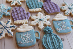 Baby It's Cold Outside Sugar Cookies