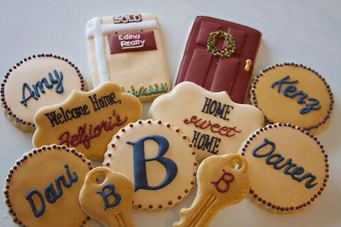 Welcome Home Edina Realty Sugar Cookies