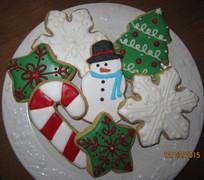Assorted Christmas Sugar Cookies