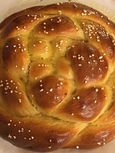 Honey Challah Bread