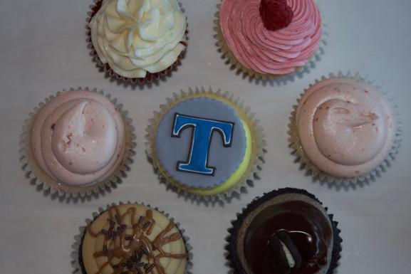 Gourmet Extra Large Graduation Cupcakes