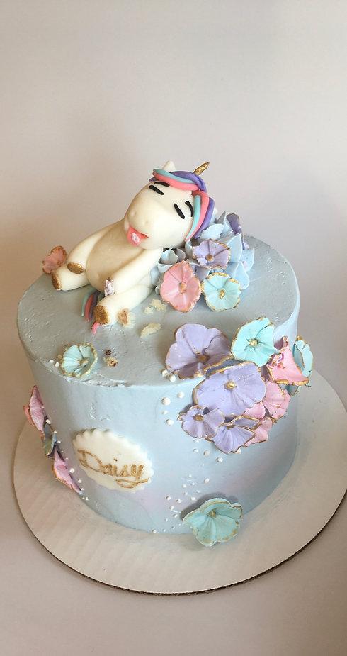 """""""Caked Out"""" Unicorn Cake"""