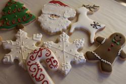 Beautiful Christmas Sugar Cookies
