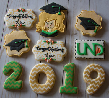 Graduation Sugar Cookies 2019