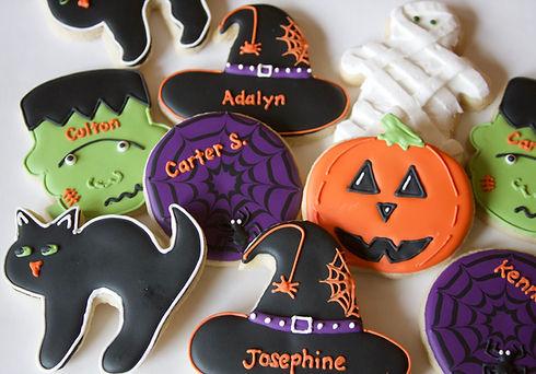 Halloween Royal Icing Sugar Cookies