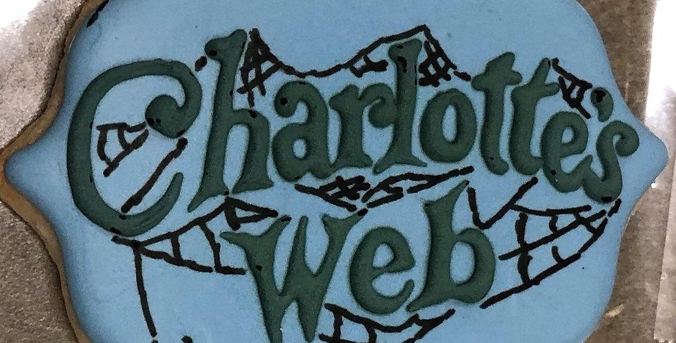 Charlotte's Web Sugar Cookie