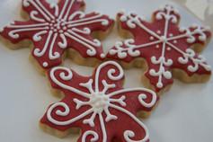 Sugar Cookie Snowflakes