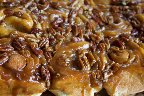 Caramel Pecan Rolls   $22 per dozen