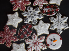 Christmas Custom Sugar Cookies